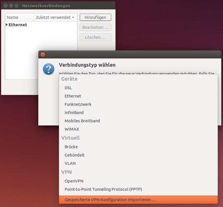 OpenVPN Client unter Ubuntu (Desktop) einrichten - techgrube de