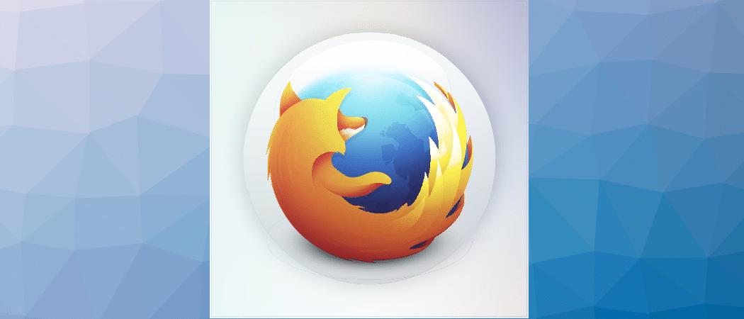 Firefox Beitrag
