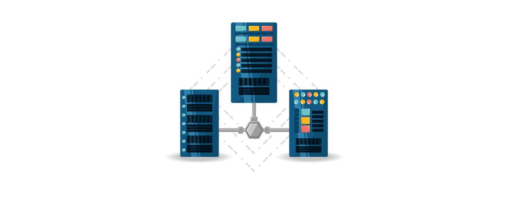 Server Netzwerk Beitrag