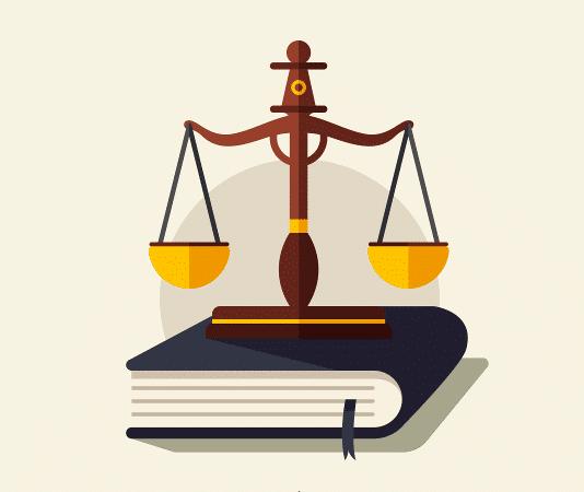 Gesetz Waage Beitrag