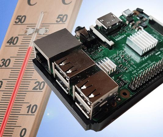 Raspberry Pi Temeratur auslesen Beitragsbild