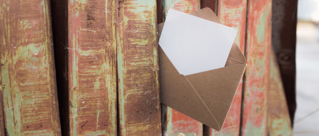 Brief in Zaun